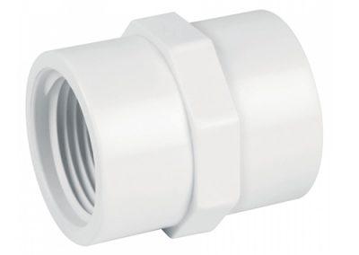 Adaptador hembra PVC